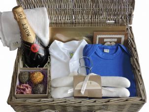 Peter Pan Boy Baby Gift Hamper by Mulberry Organics